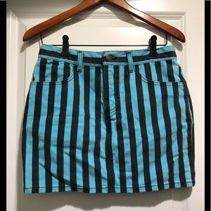 Marc Jacobs striped mini skirt sz 26